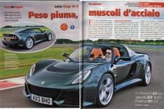 Lotus Exige S Roadster -Al Volante - Sept 2013