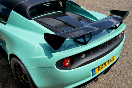 Elise Cup 250 Rear Wing
