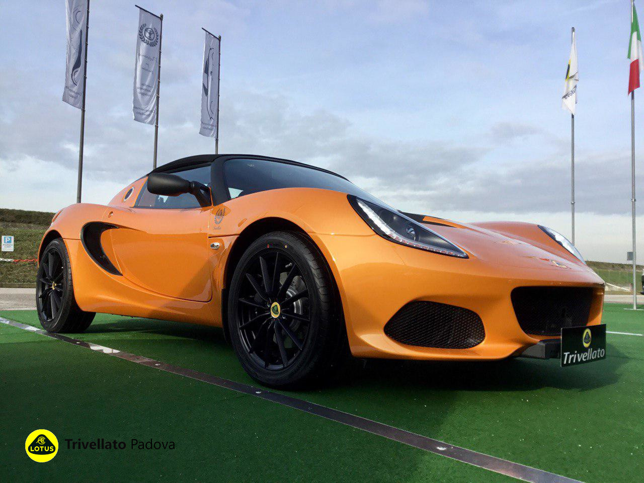 LOTUS ELISE SPORT 220 BURNT ORANGE (9)