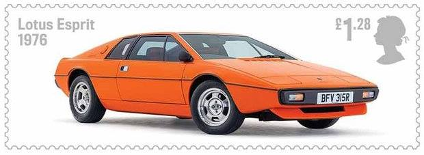 "Lotus Esprit Post: ""Lotus received the Royal Stamp of Approval"""